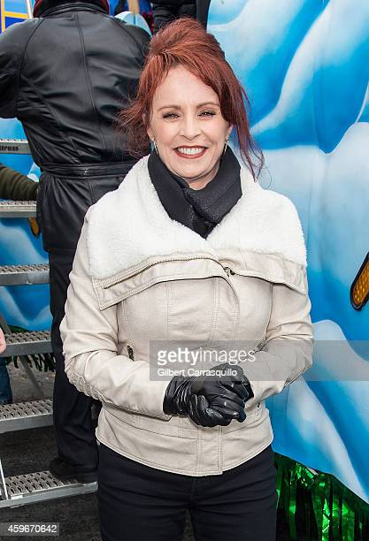 Recording artist and stage and TV/film actress Sheena Easton attends the 95th Annual 6abc Dunkin' Donuts Thanksgiving Day Parade on November 27 2014...