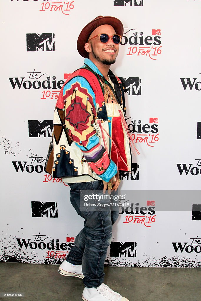 Recording artist Anderson .Paak attends the 2016 MTV Woodies/10 For 16 on March 16, 2016 in Austin, Texas.