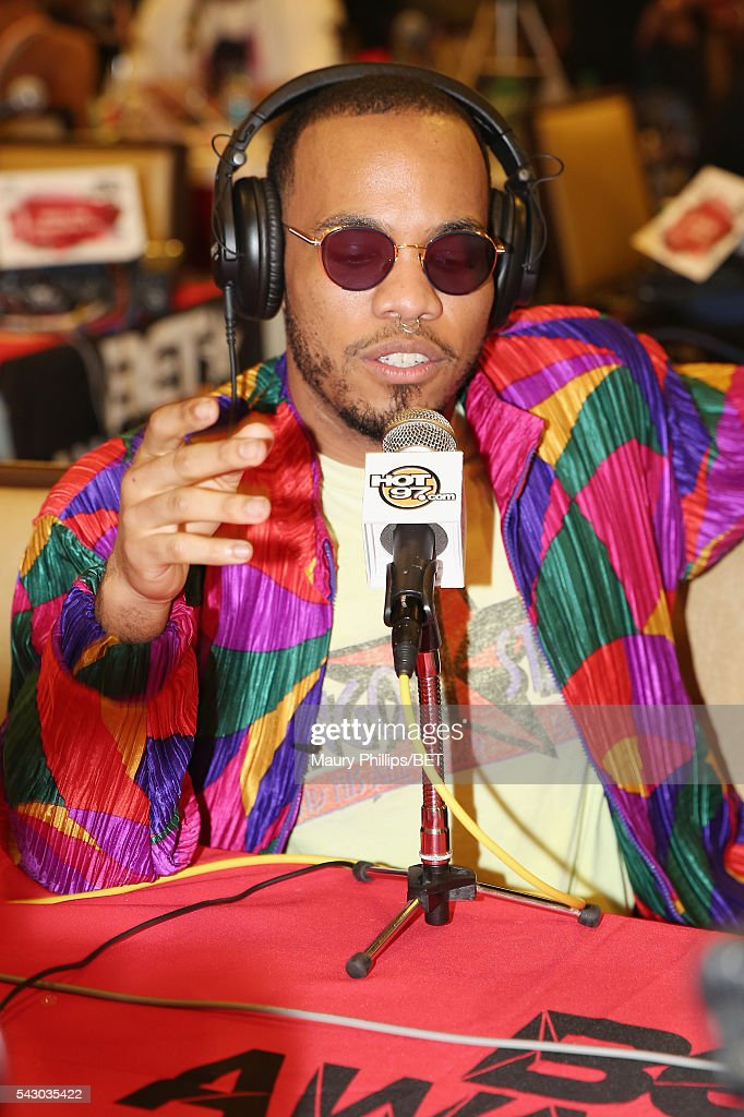 Recording artist Anderson .Paak attends the radio broadcast center during the 2016 BET Experience at the JW Marriott Los Angeles L.A. Live on June 25, 2016 in Los Angeles, California.