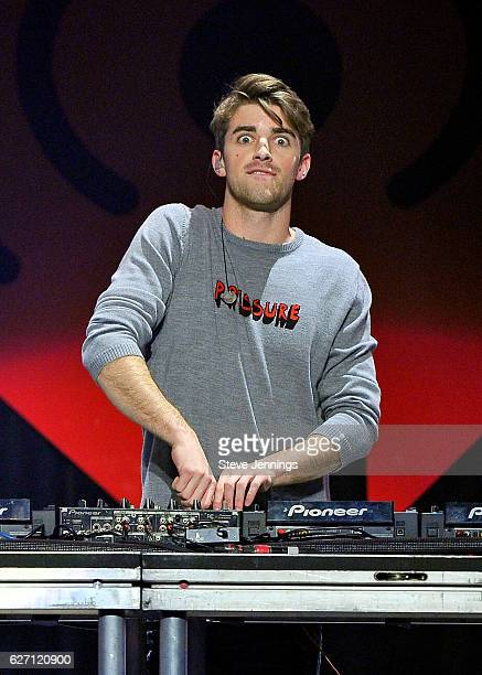 Recording artist Andrew Taggart of The Chainsmokers performs onstage at WiLD 949's FM's Jingle Ball 2016 presented by Capital One at SAP Center on...