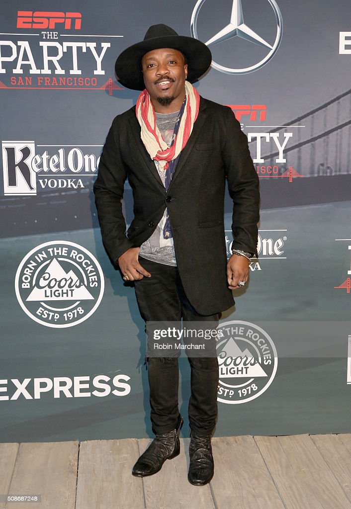 Recording artist Anthony Hamilton attends ESPN The Party on February 5, 2016 in San Francisco, California.