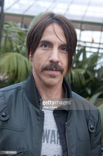 Recording artist Anthony Kiedis attends 'Hang Ten' Malibu Boys And Girls Club Anniversary Celebration at La Villa Contenta on May 7 2011 in Malibu...