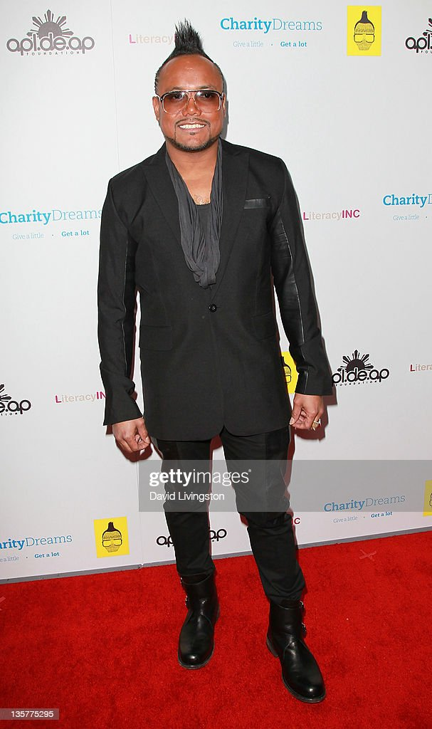 Recording artist apl.de.ap attends his birthday celebration and launch of 'We Can Be Anything' at The Conga Room at L.A. Live on December 13, 2011 in Los Angeles, California.