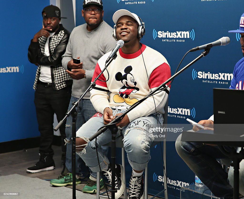 Recording artist ASAP Ferg attends his album listening party airing on SiriusXM HipHop Nation at the SiriusXM Studio on April 25 2016 in New York City