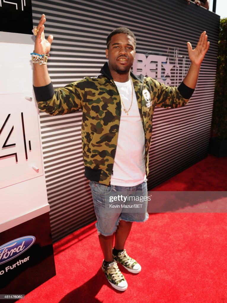 Recording artist ASAP Ferg attends the BET AWARDS '14 at Nokia Theatre LA LIVE on June 29 2014 in Los Angeles California