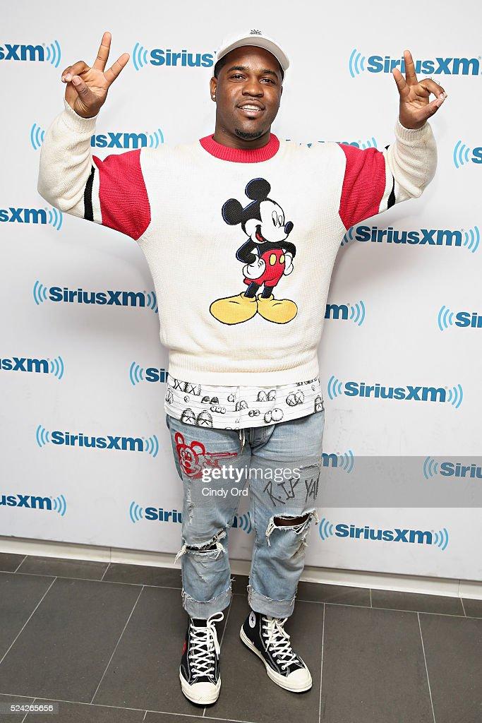 Recording artist ASAP Ferg visits the SiriusXM Studio on April 25 2016 in New York City