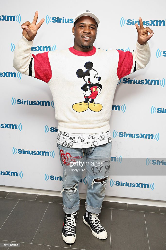 Recording artist ASAP Ferg visits the SiriusXM Studio on April 25, 2016 in New York City.