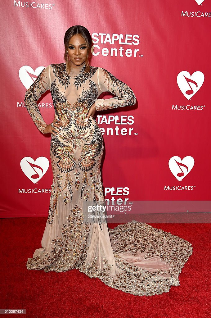 Recording artist <a gi-track='captionPersonalityLinkClicked' href=/galleries/search?phrase=Ashanti&family=editorial&specificpeople=146300 ng-click='$event.stopPropagation()'>Ashanti</a> attends the 2016 MusiCares Person of the Year honoring Lionel Richie at the Los Angeles Convention Center on February 13, 2016 in Los Angeles, California.