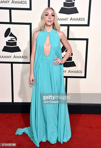 Recording artist Ashley Monroe attends The 58th GRAMMY Awards at Staples Center on February 15 2016 in Los Angeles California