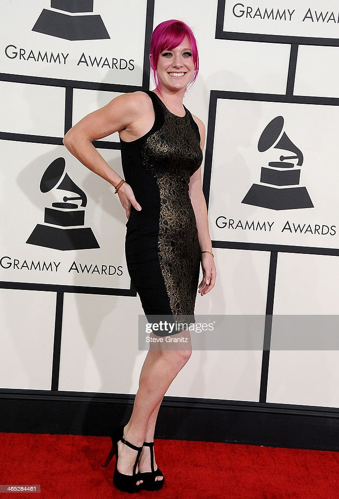 Recording artist Avena Savage attends the 56th GRAMMY Awards at Staples Center on January 26, 2014 in Los Angeles, California.