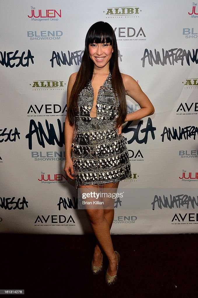 Recording artist Baiyu attends the Anna Francesca Presentation during Fall 2013 Mercedes-Benz Fashion Week at Tammany Hall on February 9, 2013 in New York City.