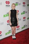 Recording artist Bea Miller attends KIIS FM's Jingle Ball 2014 powered by LINE at Staples Center on December 5 2014 in Los Angeles California
