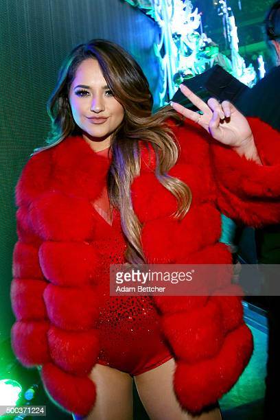Recording artist Becky G attends 1013 KDWB's Jingle Ball 2015 at Xcel Energy Center on December 7 2015 in St Paul Minnesota