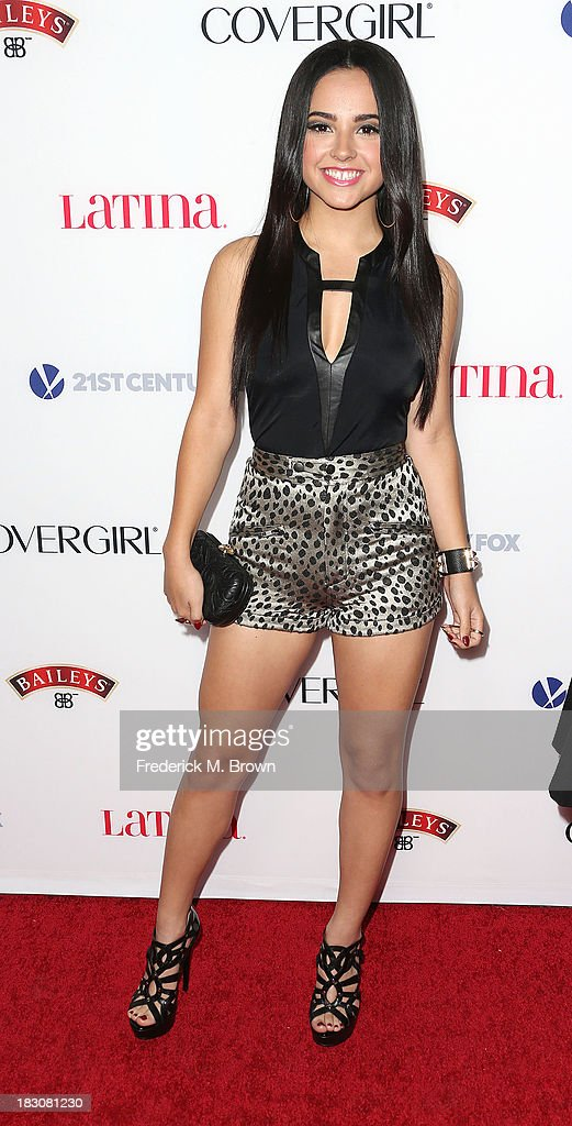 Recording artist Becky G attends Latina Magazine's 'Hollywood Hot List' Party at The Redbury Hotel on October 3, 2013 in Hollywood, California.