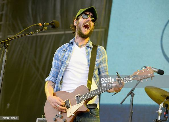 Recording artist Ben Bridwell of Band of Horses performs onstage at What Stage during Day 3 of the 2016 Bonnaroo Arts And Music Festival on June 9...