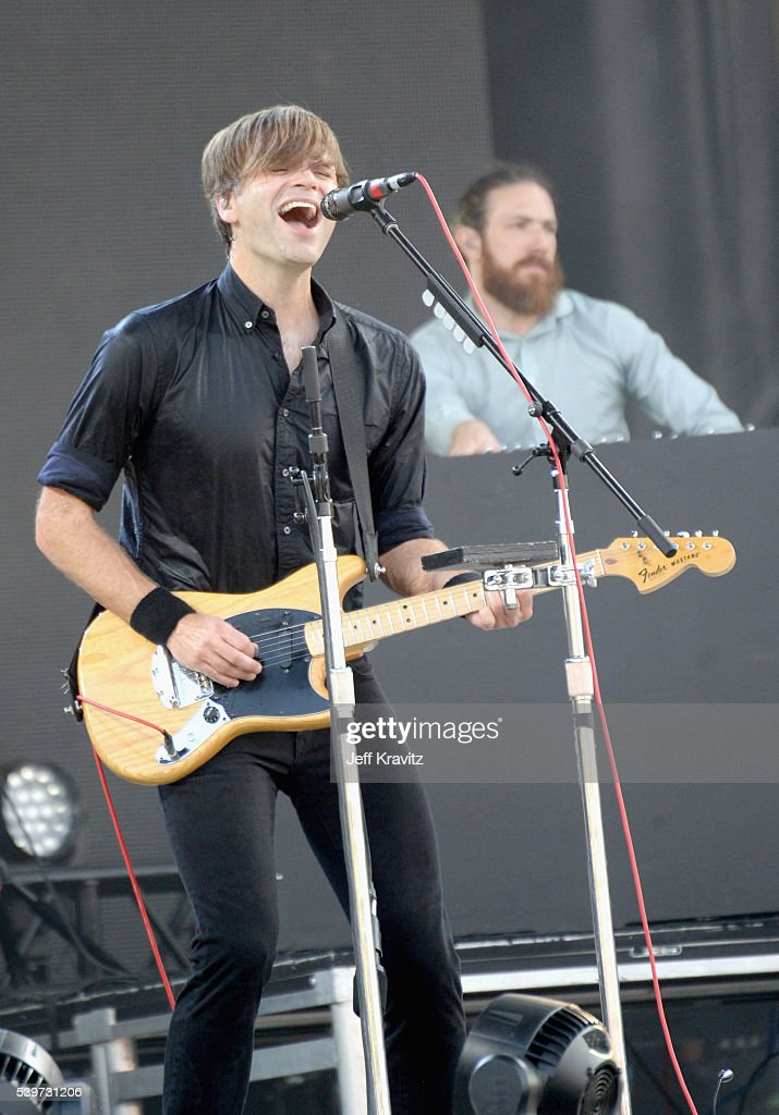 Recording artist Ben Gibbard of Death Cab for Cutie performs onstage at What Stage during Day 4 of the 2016 Bonnaroo Arts And Music Festival on June...