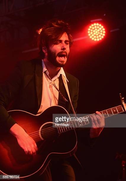 Recording artist Ben Schneider of Lord Huron performs onstage at This Tent during Day 4 of the 2016 Bonnaroo Arts And Music Festival on June 12 2016...