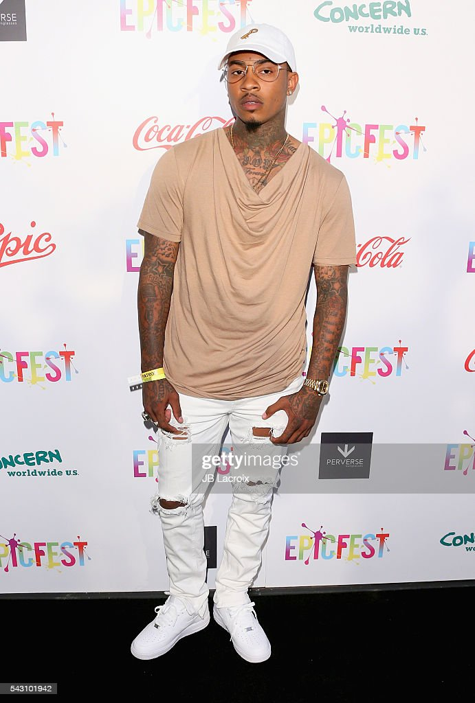 Recording artist Bernard Flowers attends EpicFest 2016 hosted by L.A. Reid and Epic Records at Sony Studios on June 25, 2016 in Los Angeles, California.