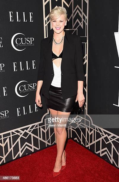 Recording artist Betty Who attends the 5th Annual ELLE Women in Music Celebration presented by CUSP by Neiman Marcus Hosted by ELLE EditorinChief...