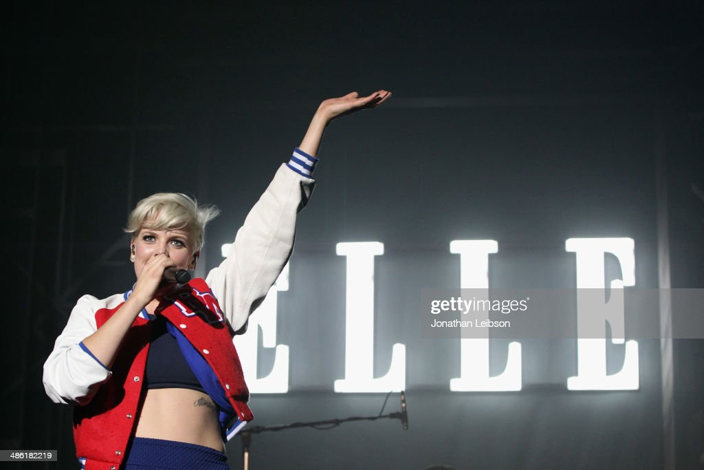 Recording artist <a gi-track='captionPersonalityLinkClicked' href=/galleries/search?phrase=Betty+Who&family=editorial&specificpeople=11519975 ng-click='$event.stopPropagation()'>Betty Who</a> performs onstage at the 5th Annual ELLE Women in Music Celebration presented by CUSP by Neiman Marcus. Hosted by ELLE Editor-in-Chief Robbie Myers with performances by Sarah McLachlan, Angel Haze and <a gi-track='captionPersonalityLinkClicked' href=/galleries/search?phrase=Betty+Who&family=editorial&specificpeople=11519975 ng-click='$event.stopPropagation()'>Betty Who</a>, with special DJ set by Rumer Willis at Avalon on April 22, 2014 in Hollywood, California.