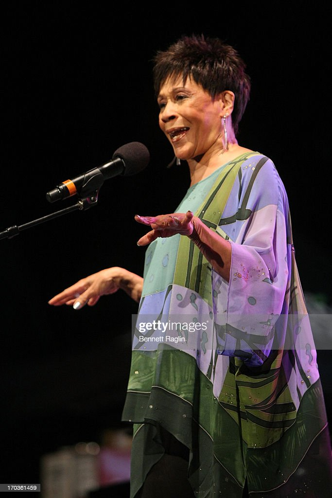 Recording artist Bettye Lavette performs during the 2013 City Parks Foundation's SummerStage Gala at Central Park SummerStage on June 11, 2013 in New York City.