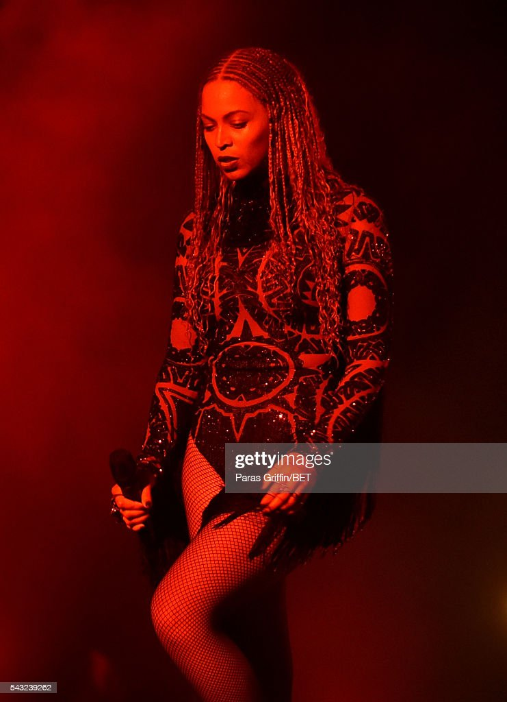 Recording artist Beyonce performs onstage during the 2016 BET Awards at the Microsoft Theater on June 26, 2016 in Los Angeles, California.