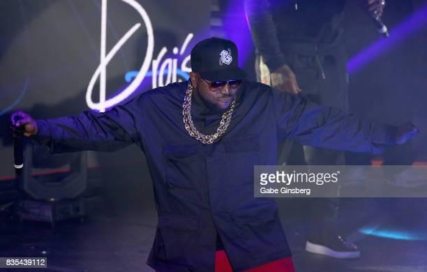 Recording artist Big Boi performs at Drai's Beach Club Nightclub at The Cromwell Las Vegas on August 19 2017 in Las Vegas Nevada