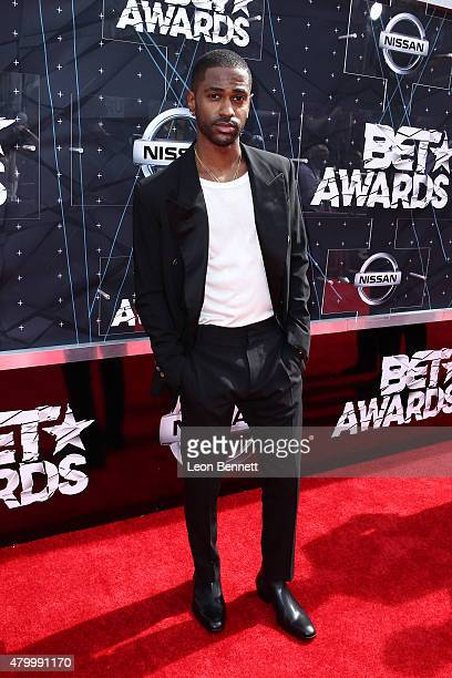 Recording artist Big Sean arrived at the BET Make A Wish Foundation Recipients BET Experience At LA Live Red Carpet arrivals Weekend Events on June...