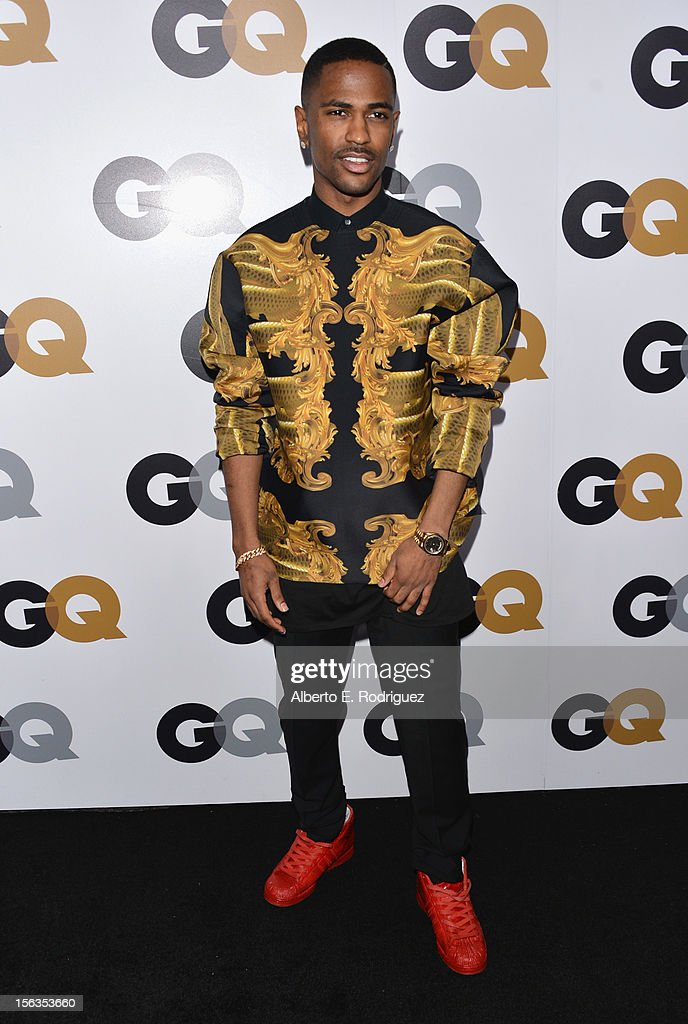 Recording artist <a gi-track='captionPersonalityLinkClicked' href=/galleries/search?phrase=Big+Sean&family=editorial&specificpeople=4449582 ng-click='$event.stopPropagation()'>Big Sean</a> arrives at the GQ Men of the Year Party at Chateau Marmont on November 13, 2012 in Los Angeles, California.