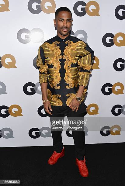 Recording artist Big Sean arrives at the GQ Men of the Year Party at Chateau Marmont on November 13 2012 in Los Angeles California