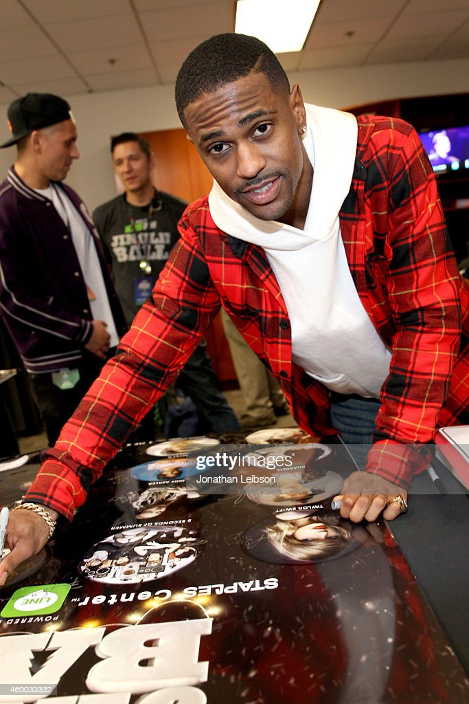 Recording artist Big Sean attends KIIS FM's Jingle Ball 2014 powered by LINE at Staples Center on December 5, 2014 in Los Angeles, California.