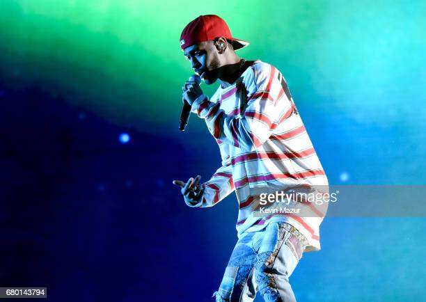 Recording artist Big Sean performs onstage during the 2017 MTV Movie And TV Awards at The Shrine Auditorium on May 7 2017 in Los Angeles California