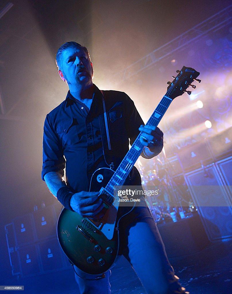 Recording Artist Bill Kelliher of Mastodon performs at Marathon Music Works on November 6, 2014 in Nashville, Tennessee.