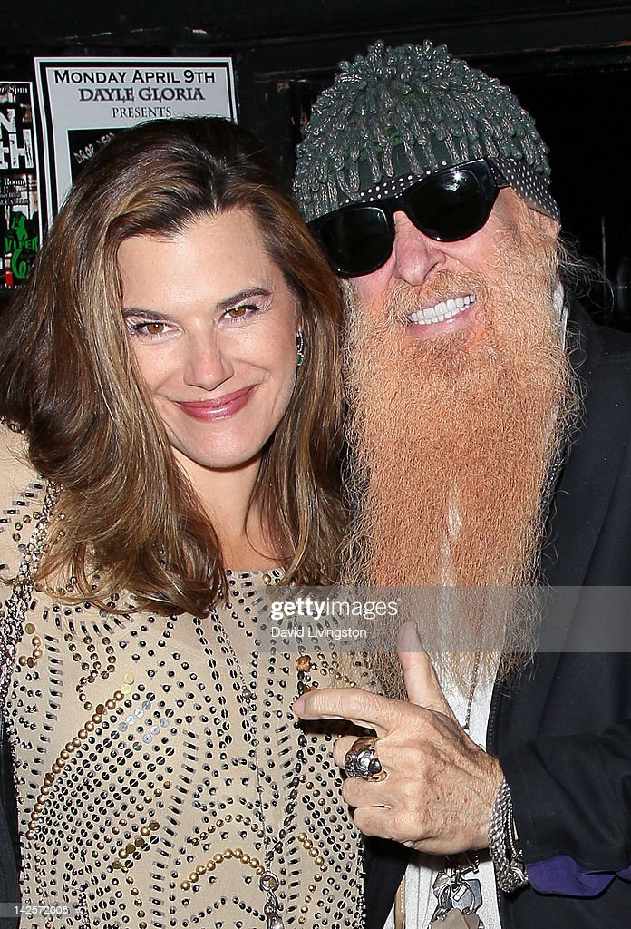 Recording artist <a gi-track='captionPersonalityLinkClicked' href=/galleries/search?phrase=Billy+Gibbons&family=editorial&specificpeople=242873 ng-click='$event.stopPropagation()'>Billy Gibbons</a> (R) and wife Gilligan Stillwater attend The Click Clack Boom performance presented by Andrew Charles and hosted by Andy Hilfiger & Mia Tyler at the Viper Room on April 7, 2012 in West Hollywood, California.