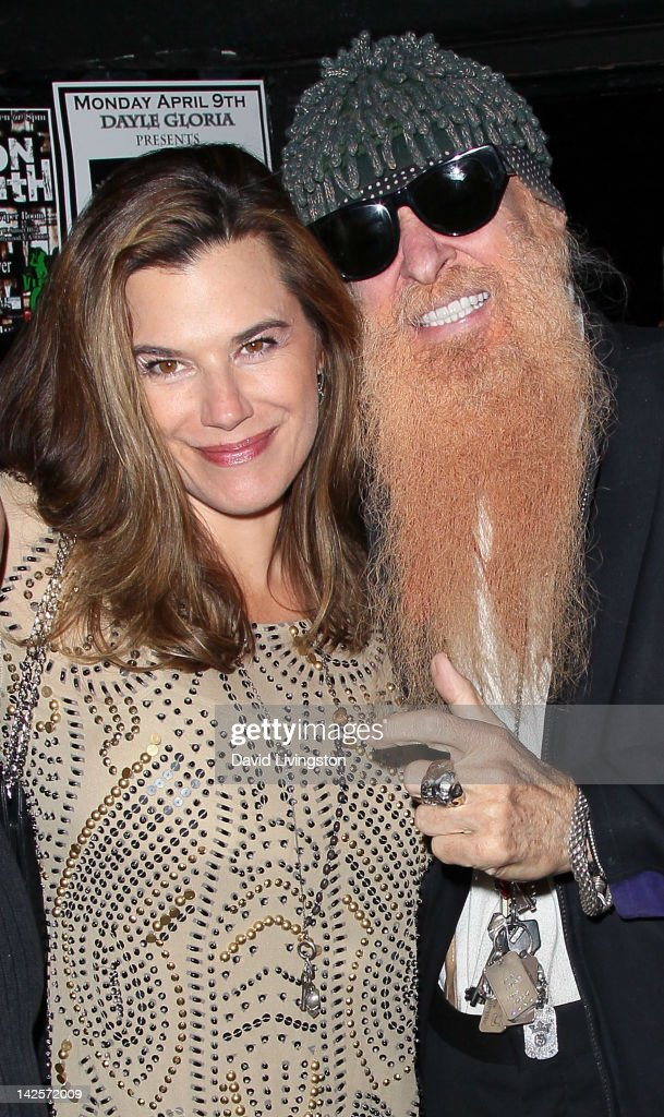 Recording artist Billy Gibbons (R) and wife Gilligan Stillwater attend The Click Clack Boom performance presented by Andrew Charles and hosted by Andy Hilfiger & Mia Tyler at the Viper Room on April 7, 2012 in West Hollywood, California.