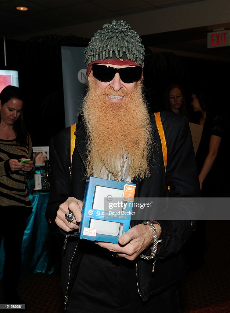 Recording artist <a gi-track='captionPersonalityLinkClicked' href=/galleries/search?phrase=Billy+Gibbons&family=editorial&specificpeople=242873 ng-click='$event.stopPropagation()'>Billy Gibbons</a> of ZZ Top attends the Backstage Creations Celebrity Retreat at the American Country Awards 2013 at the Mandalay Bay Events Center on December 9, 2013 in Las Vegas, Nevada.