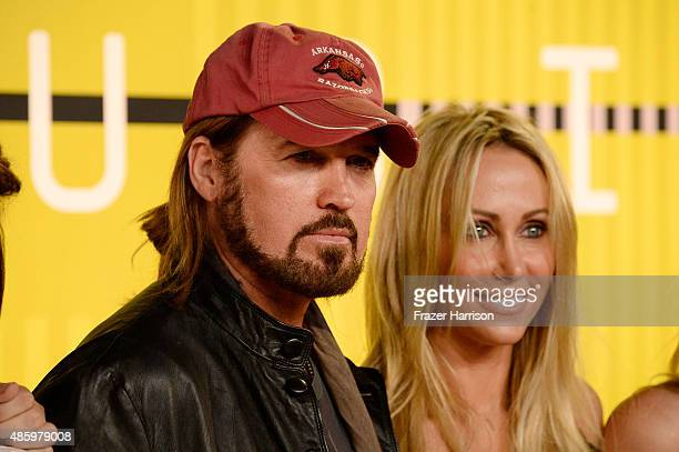 Recording artist Billy Ray Cyrus and Tish Cyrus attend the 2015 MTV Video Music Awards at Microsoft Theater on August 30 2015 in Los Angeles...