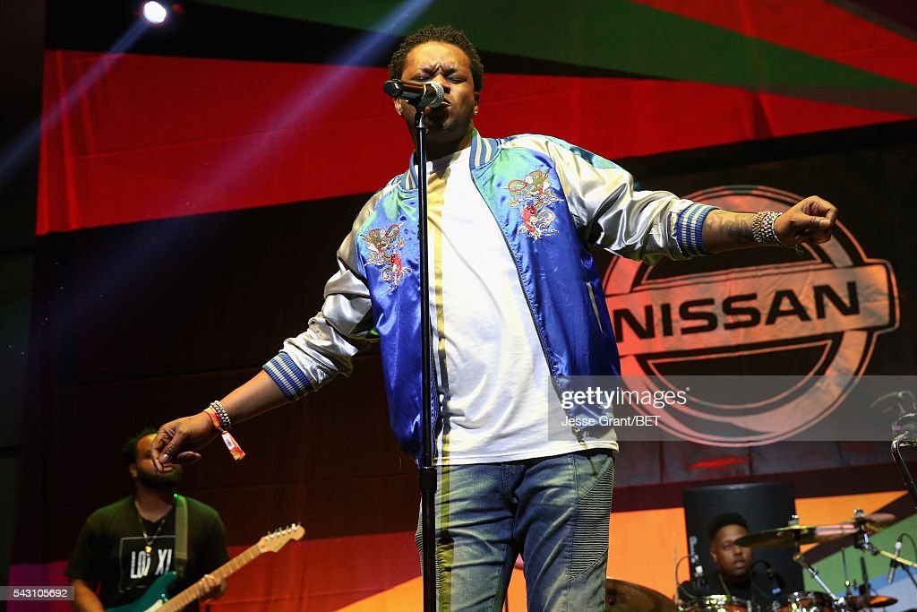 Recording artist BJ The Chicago Kid performs on the BETX Stage sponsored by Nissan during the 2016 BET Experience on June 25, 2016 in Los Angeles, California.