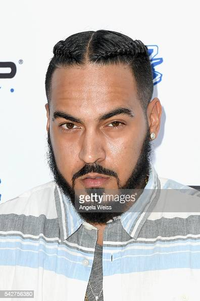 Recording artist Blais attends Next Level Presented By AMP Energy A Hip Hop Gaming Tournament at Rostrum Records on June 23 2016 in Los Angeles...