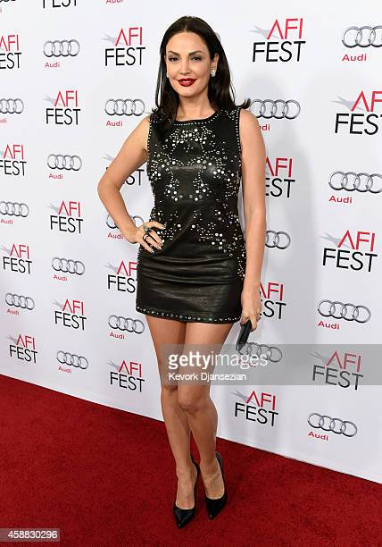 Recording artist Blenoa attends the after party for 'The Homesman' during AFI FEST 2014 presented by Audi at the Hollywood Roosevelt Hotel on...