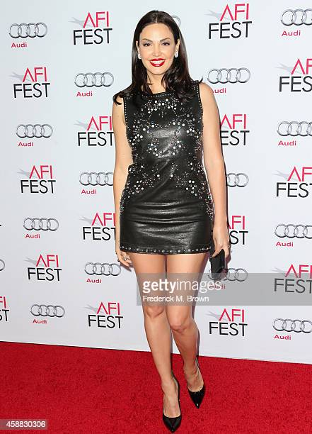 Recording artist Blenoa attends the screening for 'The Homesman' during AFI FEST 2014 presented by Audi at the Hollywood Roosevelt Hotel on November...