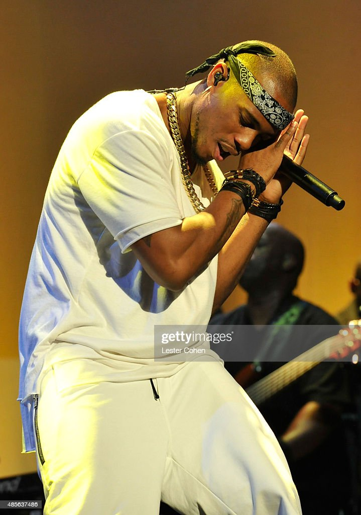 Recording artist BoB performs onstage at the 2015 BMI RB/HipHop Awards at Saban Theatre on August 28 2015 in Beverly Hills California