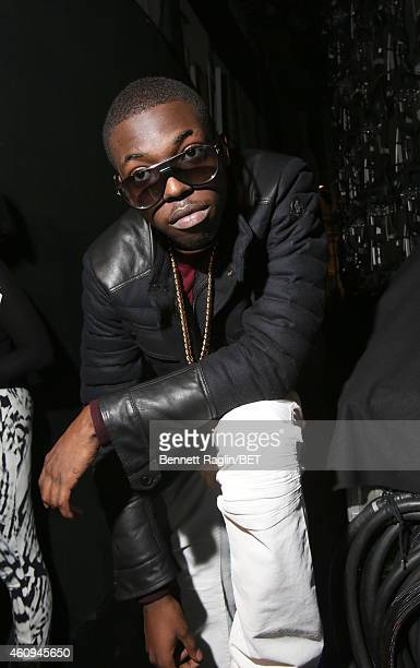 Recording artist Bobby Shmurda attends 106 Party at BET studio on December 12 2014 in New York City