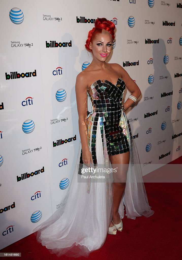 Recording Artist Bonnie McKee attends The Billboard GRAMMY after party at The London Hotel on February 10, 2013 in West Hollywood, California.