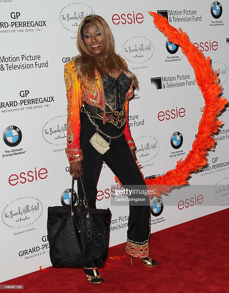 Recording artist <a gi-track='captionPersonalityLinkClicked' href=/galleries/search?phrase=Bonnie+Pointer&family=editorial&specificpeople=8662687 ng-click='$event.stopPropagation()'>Bonnie Pointer</a> attends an intimate cocktail celebration hosted by Brett Ratner in conjunction with the 100th anniversary celebration of The Beverly Hills Hotel at The Beverly Hills Hotel on June 16, 2012 in Beverly Hills, California.