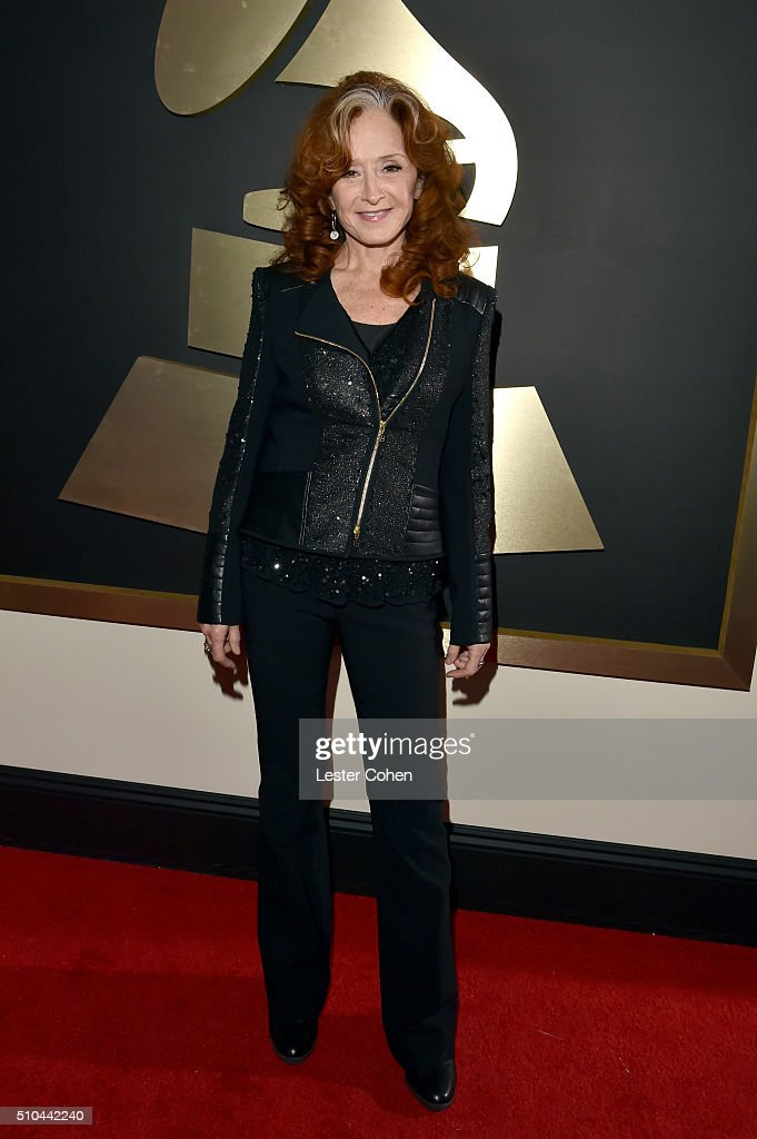 Recording artist Bonnie Raitt attends The 58th GRAMMY Awards at Staples Center on February 15, 2016 in Los Angeles, California.