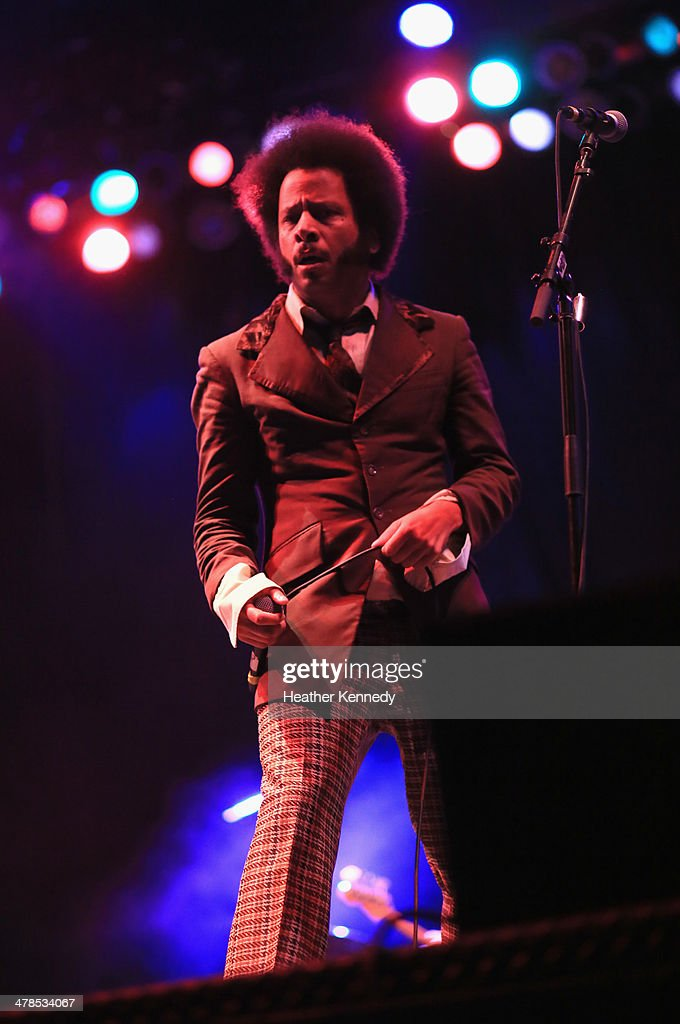 Recording artist Boots Riley performs onstage at the USPS Hendrix Stamp Event + Los Lonely Boys during the 2014 SXSW Music, Film + Interactive at Butler Park on March 13, 2014 in Austin, Texas.