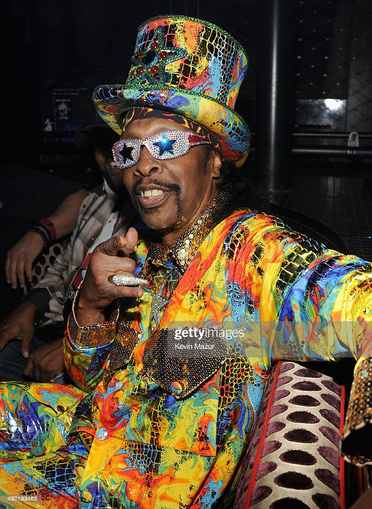 Recording artist <a gi-track='captionPersonalityLinkClicked' href=/galleries/search?phrase=Bootsy+Collins&family=editorial&specificpeople=221725 ng-click='$event.stopPropagation()'>Bootsy Collins</a> attends the 2014 Billboard Music Awards After-Party sponsored by Citi at The Light at Mandalay Bay on May 18, 2014 in Las Vegas, Nevada.
