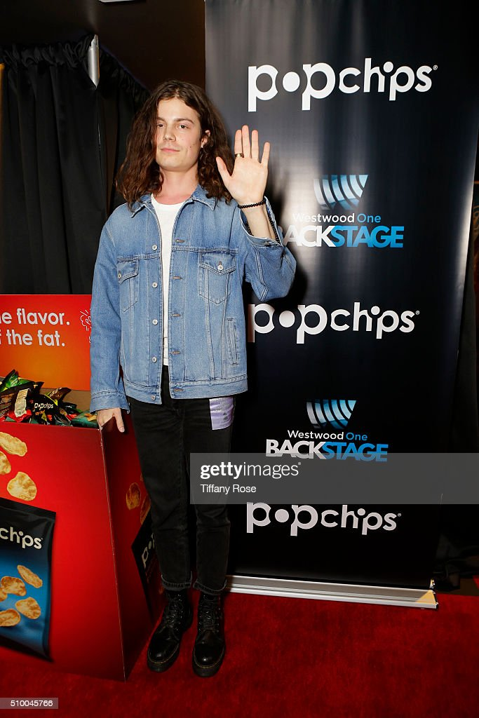 Recording Artist BORNS at popchips and Westwood One's Backstage at The GRAMMYS at Staples Center on February 13, 2016 in Los Angeles, California.