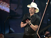 Recording artist Brad Paisley onstage at the iHeartRadio Music Awards which broadcasted live on TBS TNT AND TRUTV from The Forum on April 3 2016 in...